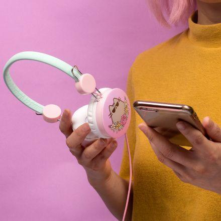 Kocie słuchawki pusheen prezent dla przyjaciółki warszawa
