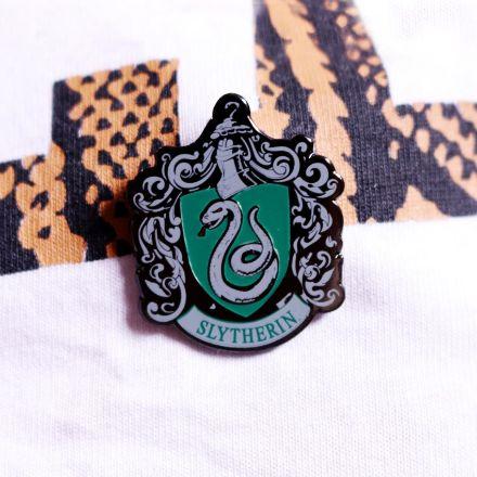 Harry Potter - Przypinka Slytherin przypinka domy hogwartu