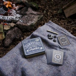 Gra Kempingowa – Campfire Games karty i kości pod namiot