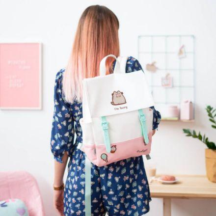 Plecak Pusheen plecak na laptopa dla dziewczyny