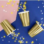 Złoty Kubeczek na Wieczór Panieński papierowe kubeczki