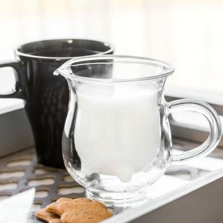 Dzbanuszek na mleko prosto od krowy gadżety kuchenne