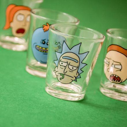 Rick and Morty – Kieliszki gadżety na licencji serialu