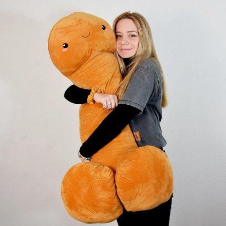 Poduszka Penisek 100 cm – Egzotyczny Przyjaciel śmieszne prezenty na 18 dla dziewczyny z poczuciem humoru