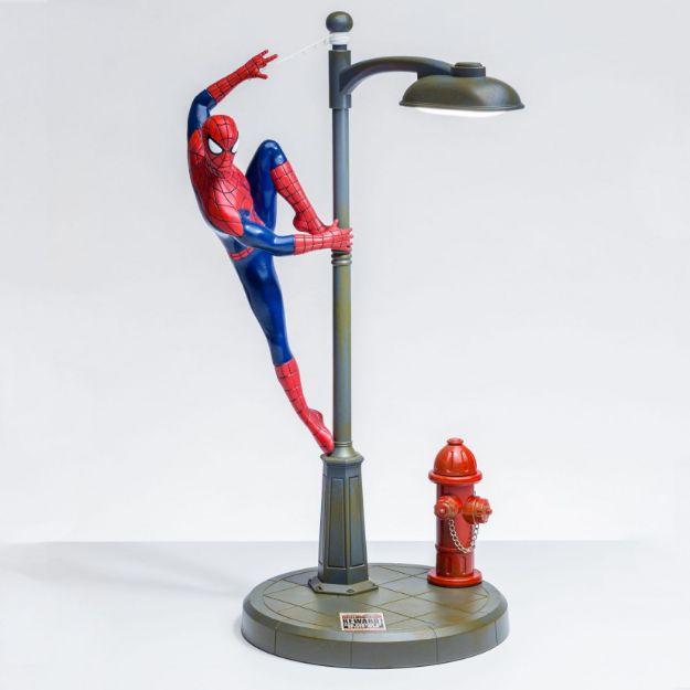 Lampka Spiderman 3D lampka ze spidermanem