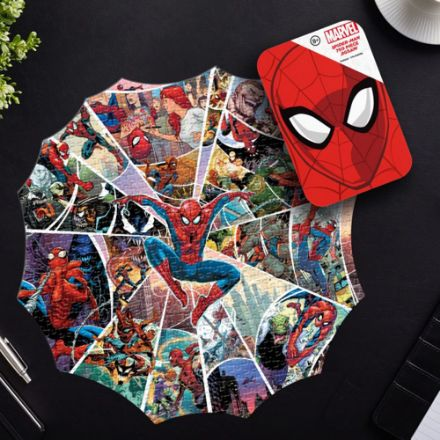 Puzzle Spiderman 750 elementów gadżety ze spidermanem