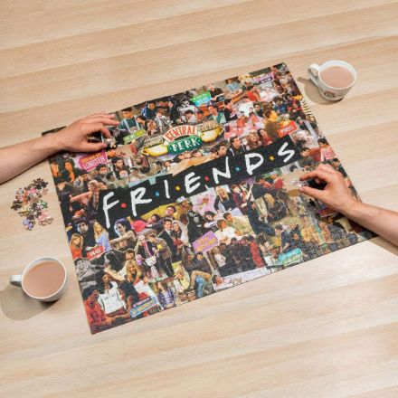 Przyjaciele Puzzle - Kolaż prezent dla przyjaciela
