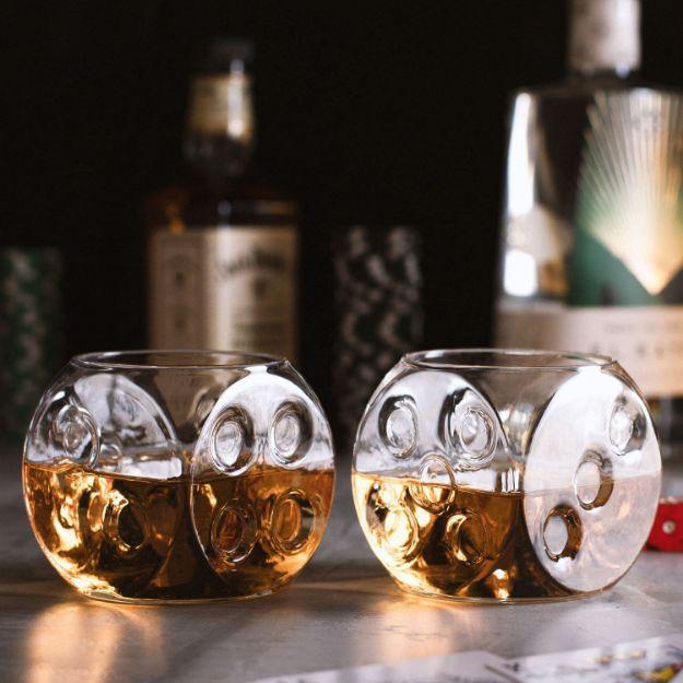 Szklanki do Whisky - Kości do Gry gadżety do whisky