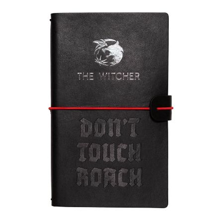 The Witcher - notes skórzany - Don't Touch Roach notes na uczelnie