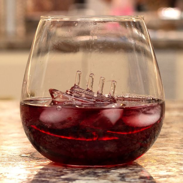 Szklanka Titanic oryginalna szklanka do whisky