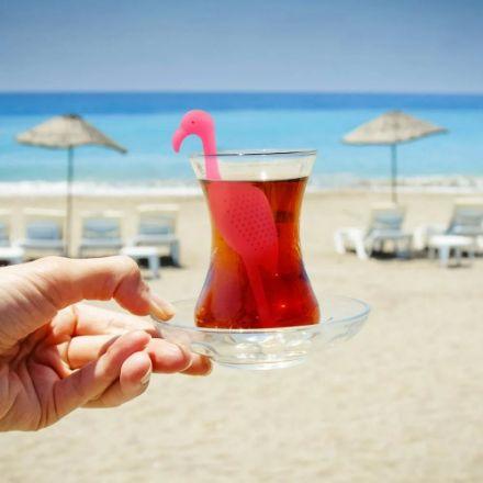 Zaparzaczka do Herbaty – Flaming prezent na mikołajki