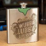 Rick and Morty – Piersiówka Wubba Lubba Dub Dub prezent na urodziny