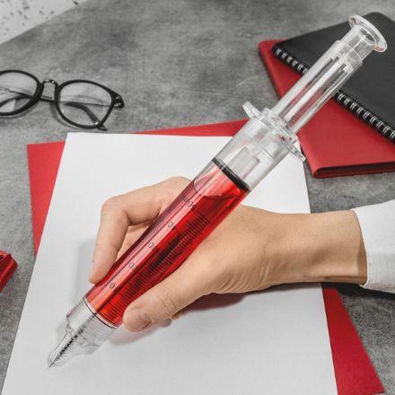 Gigantyczny Długopis Strzykawka XXL prezent dla lekarza